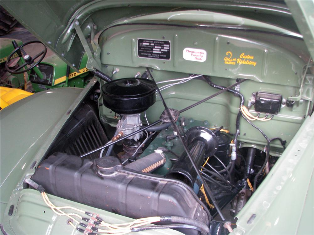 1949 INTERNATIONAL KB3 FLAT BED - Engine - 170159
