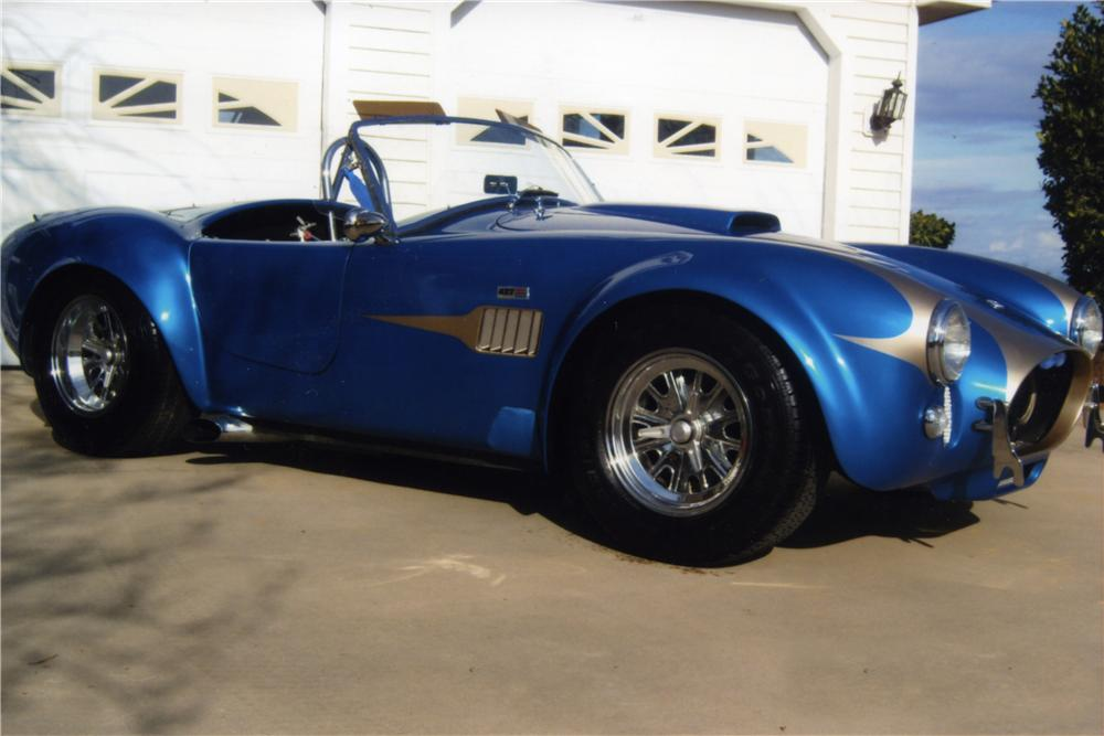 1966 SHELBY COBRA RE-CREATION ROADSTER - Front 3/4 - 170162