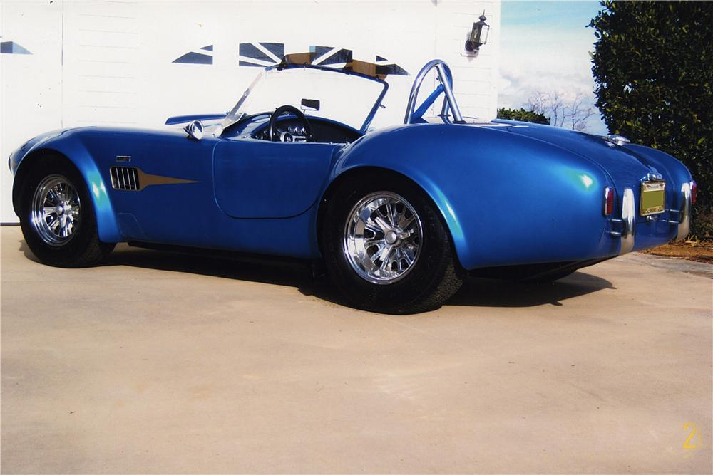 1966 SHELBY COBRA RE-CREATION ROADSTER - Rear 3/4 - 170162