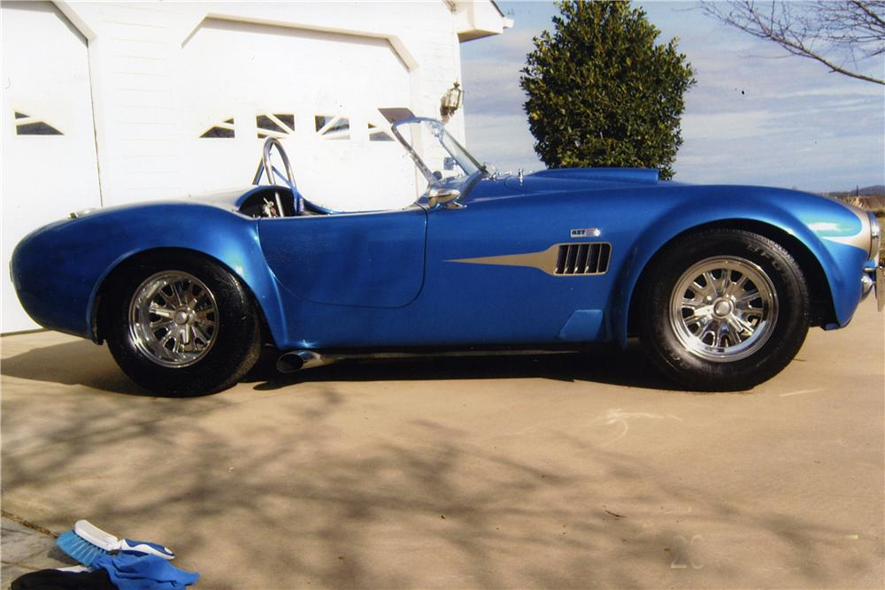 1966 SHELBY COBRA RE-CREATION ROADSTER - Side Profile - 170162