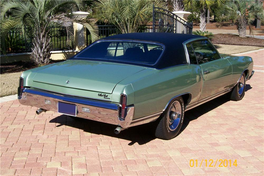 1970 CHEVROLET MONTE CARLO SS 2 DOOR COUPE - Rear 3/4 - 170167