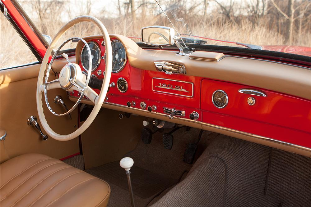 1956 MERCEDES-BENZ 190SL CONVERTIBLE - Interior - 170171