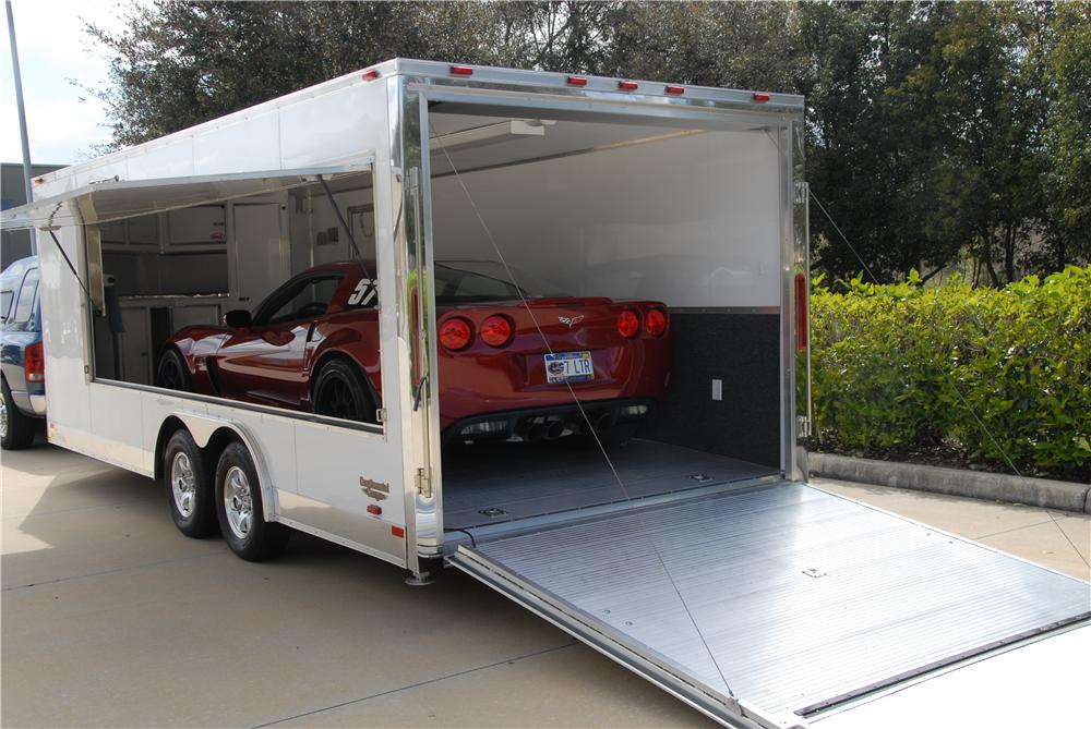 2009 CUSTOM CAR TRAILER - Rear 3/4 - 170173