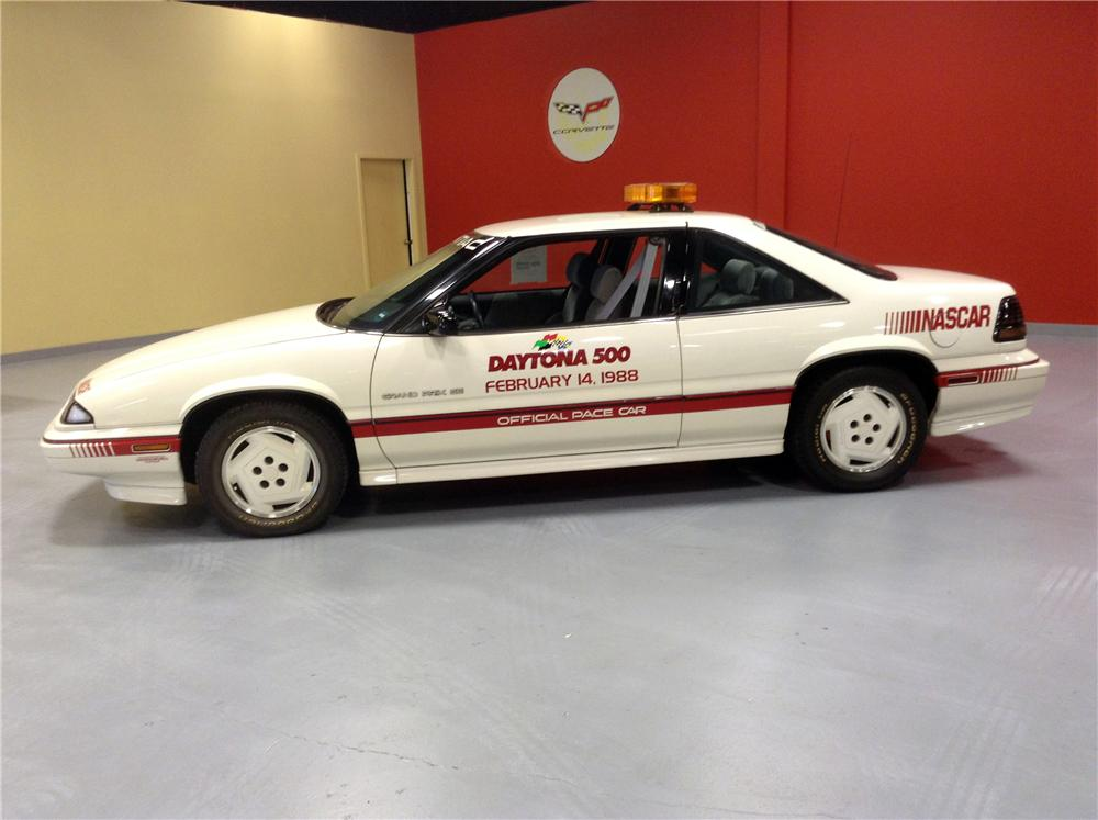 1988 PONTIAC GRAND PRIX DAYTONA 500 PACE CAR - Side Profile - 170180
