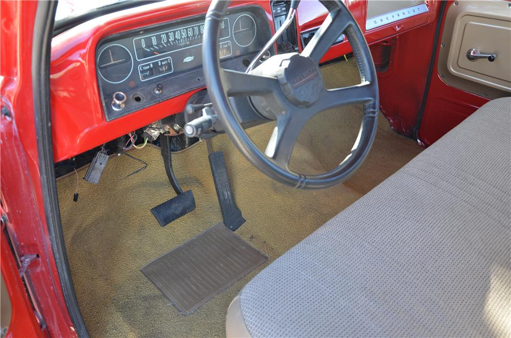 1965 CHEVROLET C-10 PICKUP - Interior - 170182
