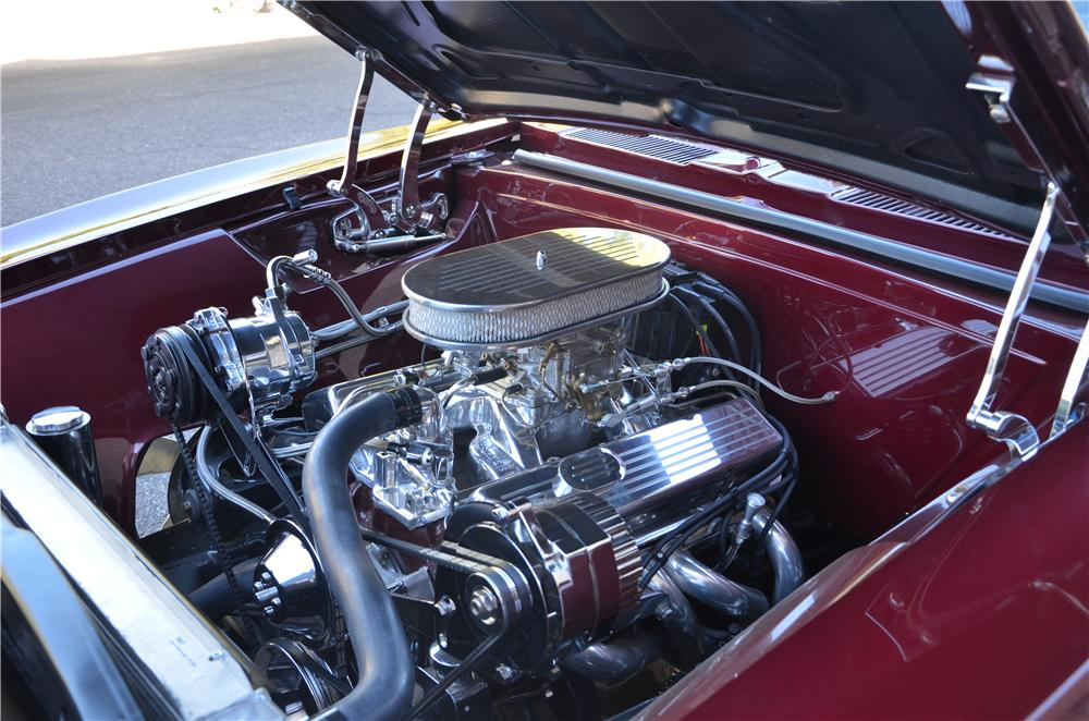 1967 CHEVROLET CAMARO CUSTOM CONVERTIBLE - Engine - 170184