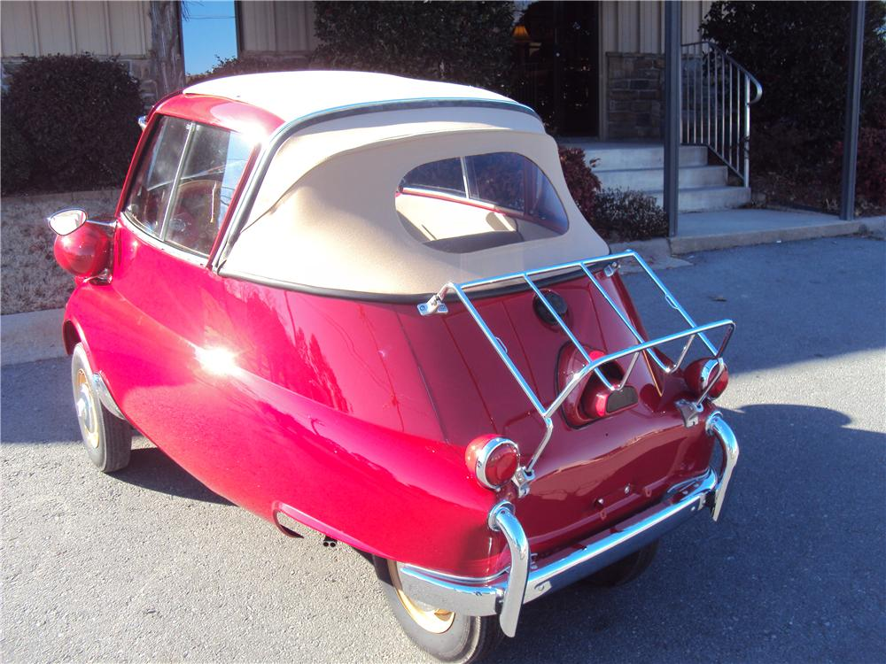 1957 BMW ISETTA 300 CONVERTIBLE - Rear 3/4 - 170190