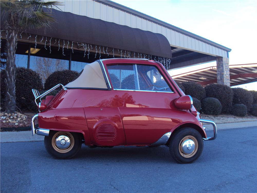 1957 BMW ISETTA 300 CONVERTIBLE - Side Profile - 170190