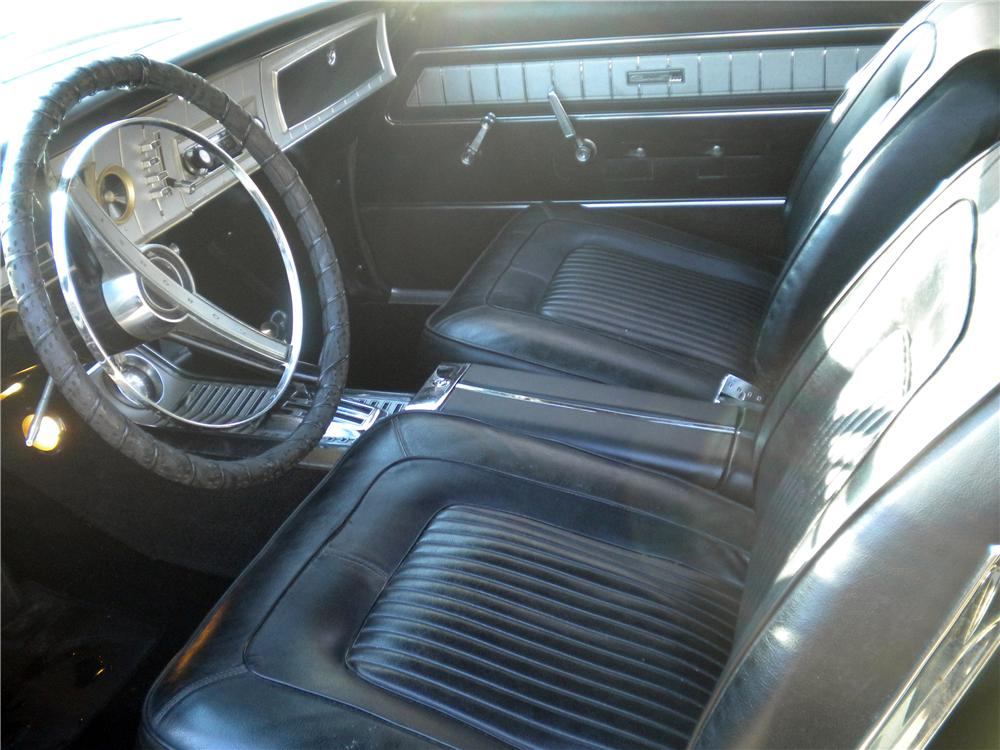 1965 DODGE CORONET 500 CONVERTIBLE - Interior - 170213