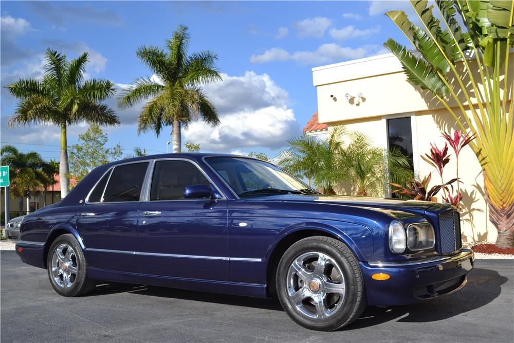2003 BENTLEY ARNAGE 4 DOOR SEDAN - Front 3/4 - 170216