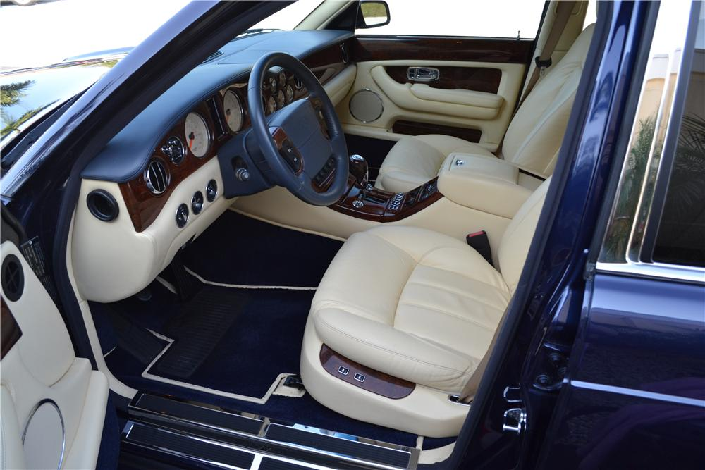 2003 BENTLEY ARNAGE 4 DOOR SEDAN - Interior - 170216