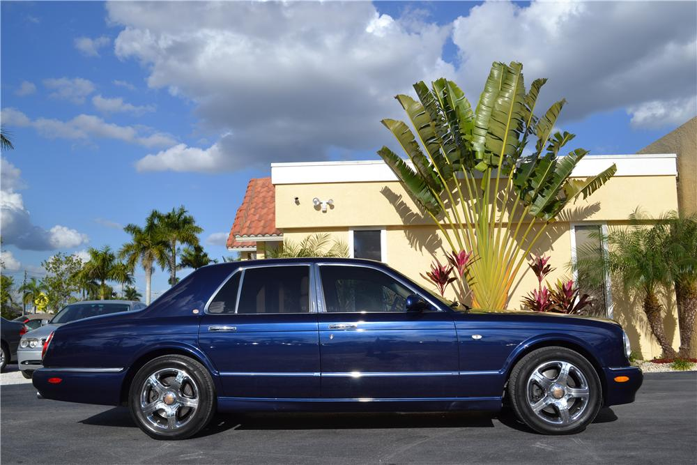 2003 BENTLEY ARNAGE 4 DOOR SEDAN - Side Profile - 170216