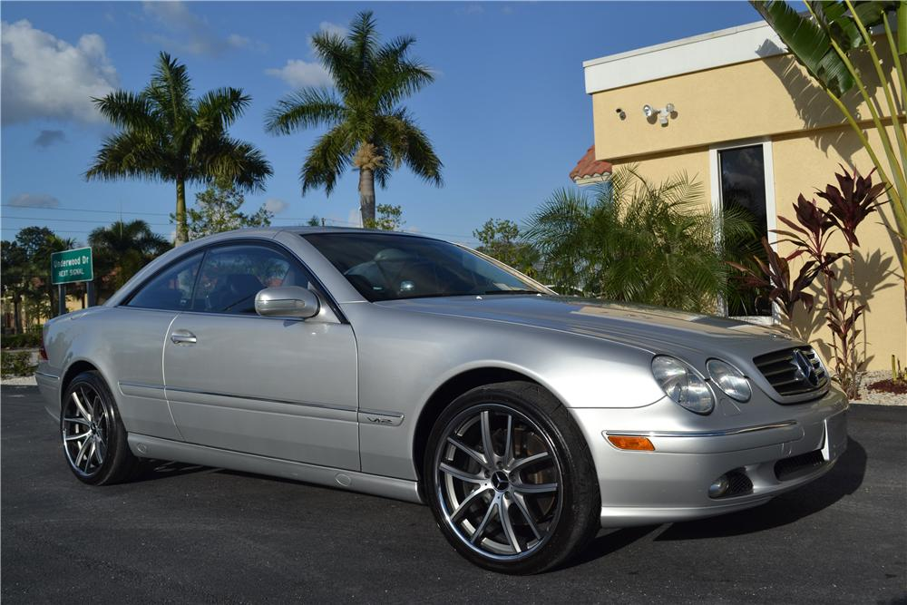 2001 MERCEDES-BENZ CL600 2 DOOR COUPE - Front 3/4 - 170218