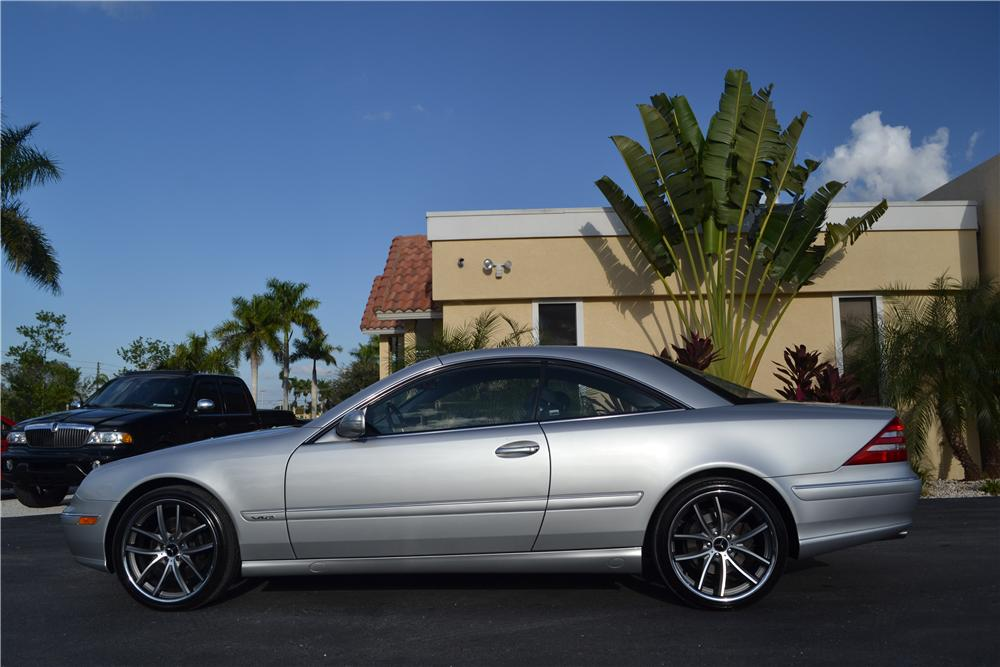 2001 mercedes benz cl600 2 door coupe 170218 for Mercedes benz cl600 for sale