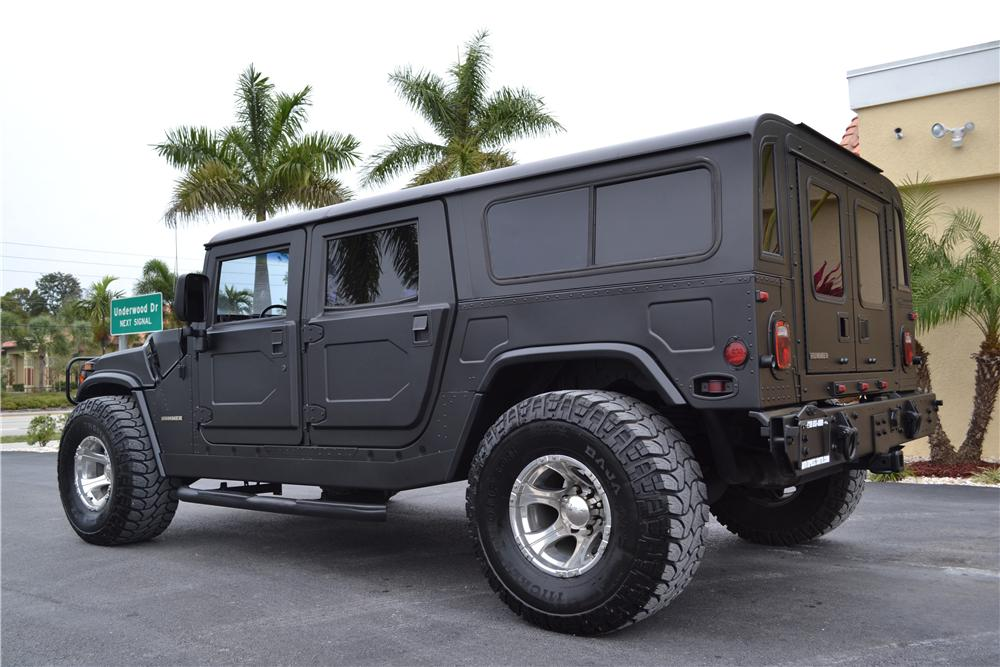 1995 AM GENERAL HUMMER H1 WAGON - Rear 3/4 - 170219