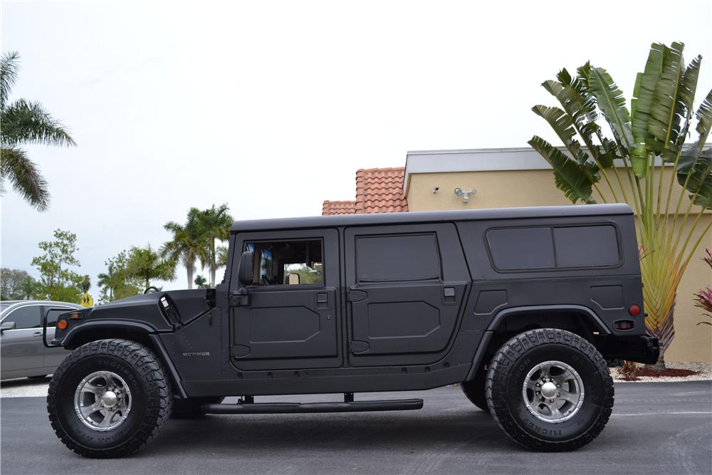 1995 AM GENERAL HUMMER H1 WAGON - Side Profile - 170219