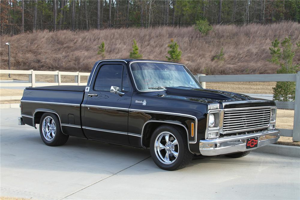 1979 CHEVROLET C-10 CUSTOM PICKUP - Front 3/4 - 170226