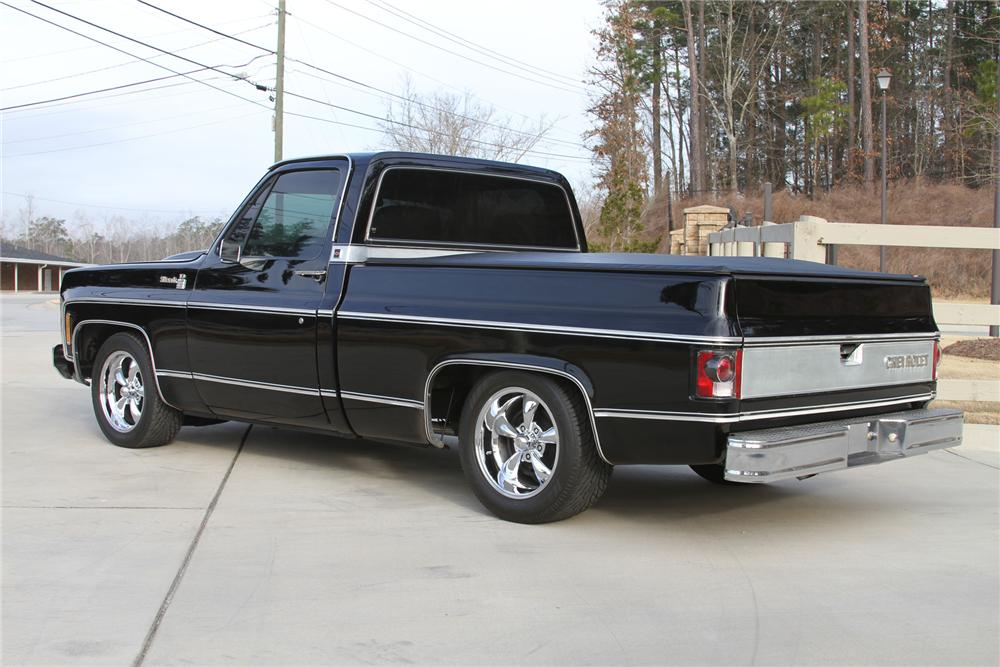 1979 CHEVROLET C-10 CUSTOM PICKUP - Rear 3/4 - 170226
