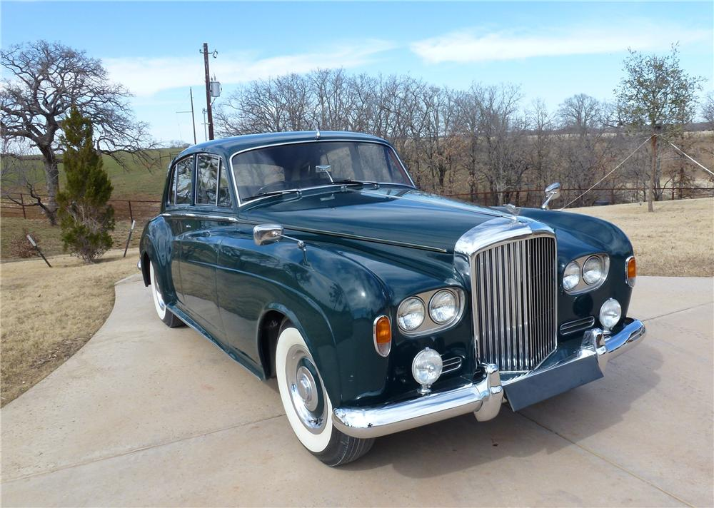 1963 BENTLEY S3 4 DOOR HARDTOP - Front 3/4 - 170232