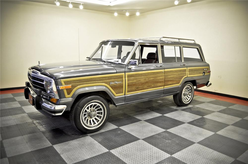 1989 JEEP GRAND WAGONEER SUV - Front 3/4 - 170235