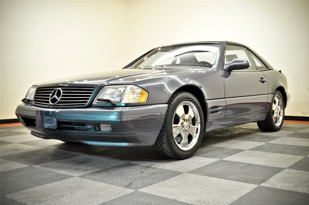 2000 MERCEDES-BENZ 500SL CONVERTIBLE - Front 3/4 - 170236