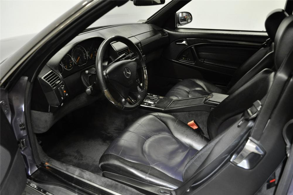 2000 MERCEDES-BENZ 500SL CONVERTIBLE - Interior - 170236