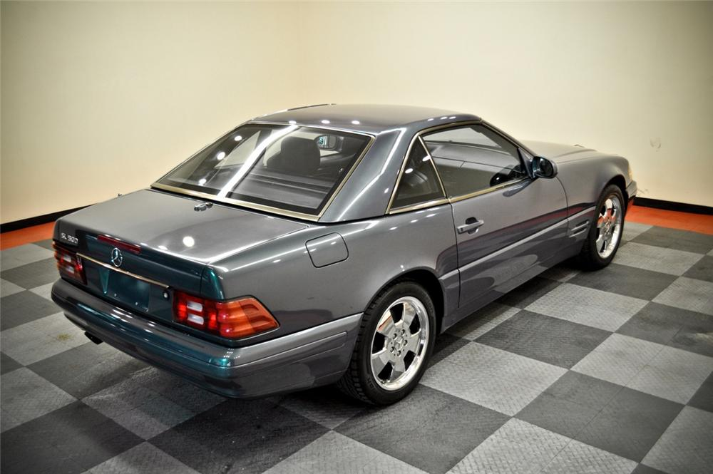 2000 MERCEDES-BENZ 500SL CONVERTIBLE - Rear 3/4 - 170236