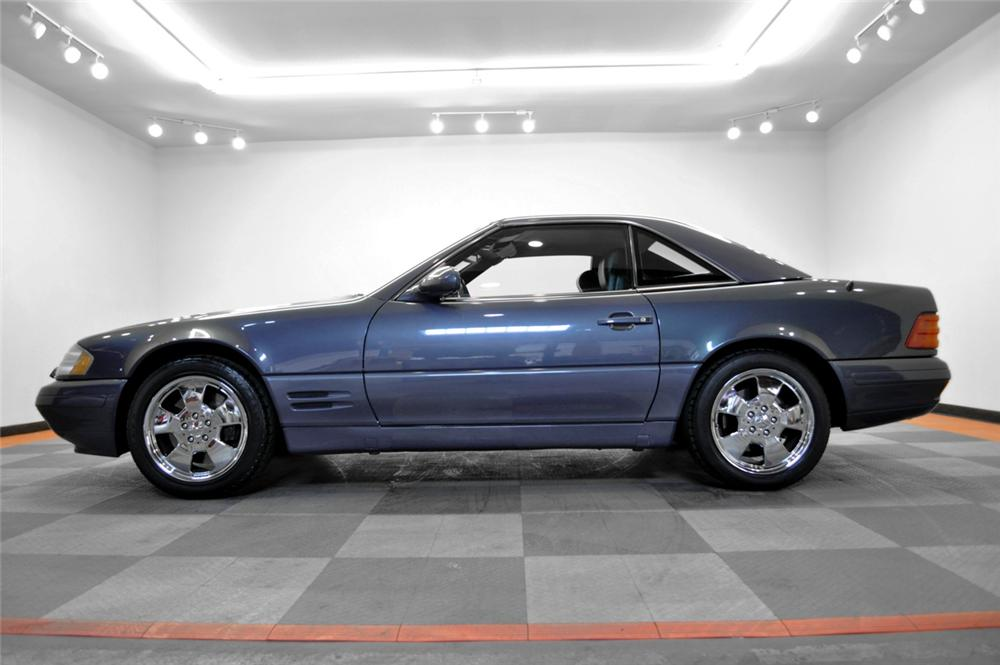2000 MERCEDES-BENZ 500SL CONVERTIBLE - Side Profile - 170236