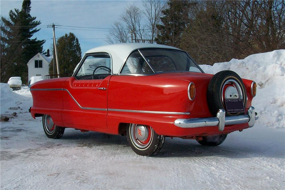 1957 NASH METROPOLITAN 2 DOOR HARDTOP - Rear 3/4 - 170238