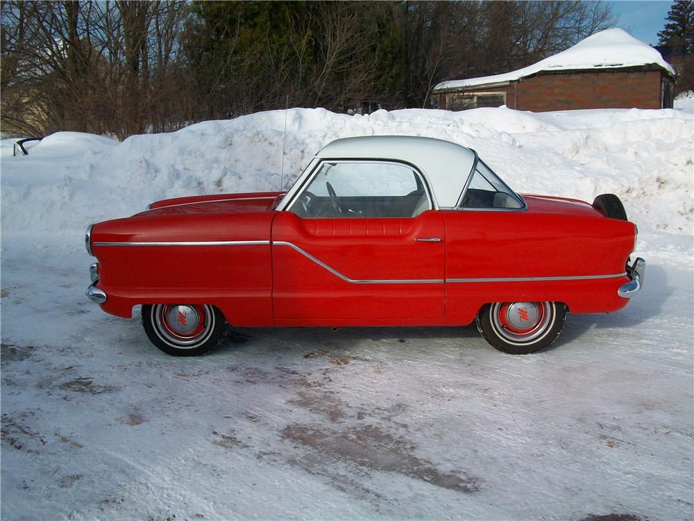 1957 NASH METROPOLITAN 2 DOOR HARDTOP - Side Profile - 170238