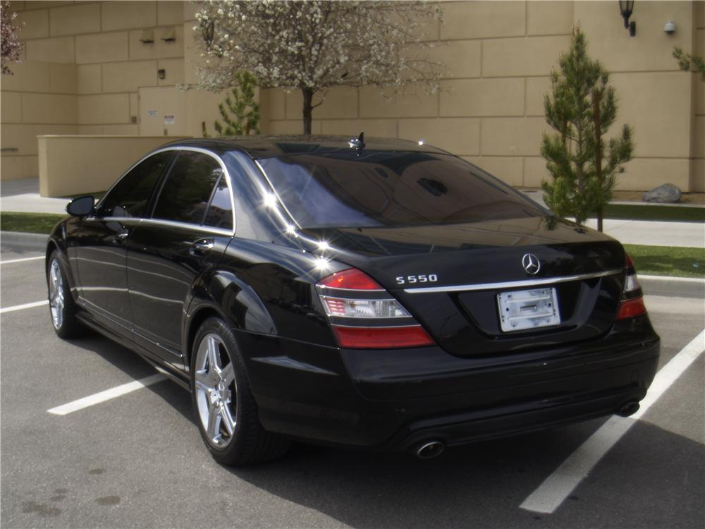 2007 MERCEDES-BENZ S550 4 DOOR SEDAN - Rear 3/4 - 170240