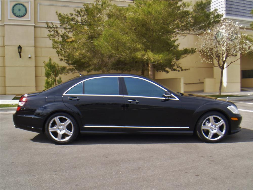 2007 MERCEDES-BENZ S550 4 DOOR SEDAN - Side Profile - 170240