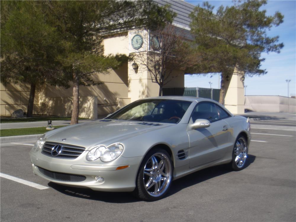 2003 MERCEDES-BENZ SL500 CONVERTIBLE - Front 3/4 - 170241