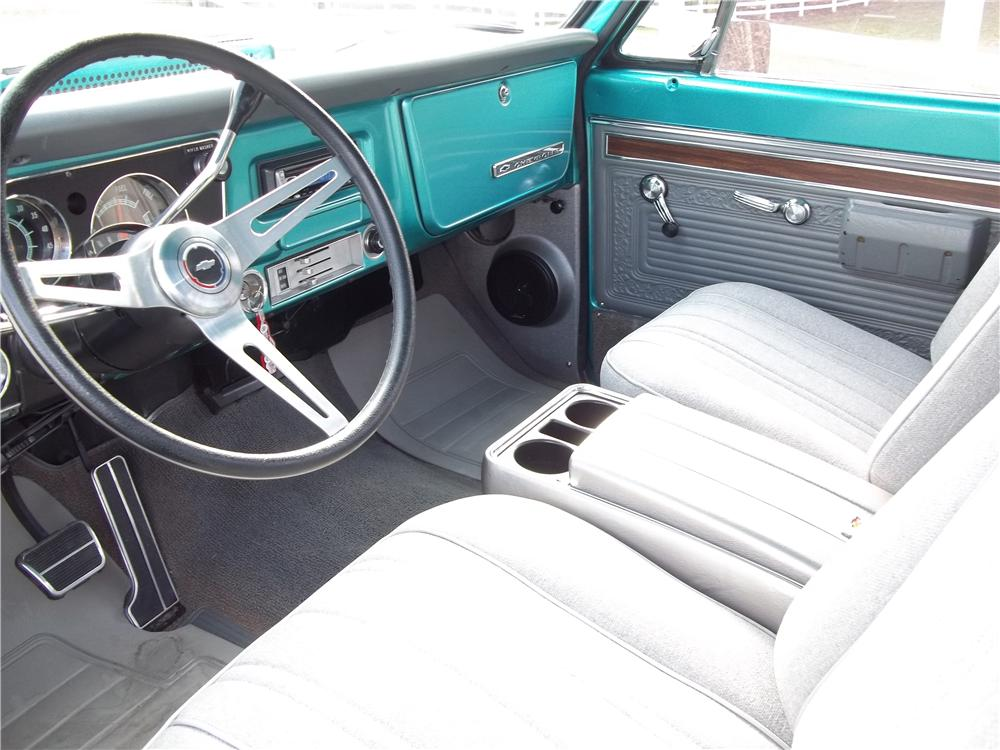 1968 CHEVROLET C-10 CUSTOM PICKUP - Interior - 170242