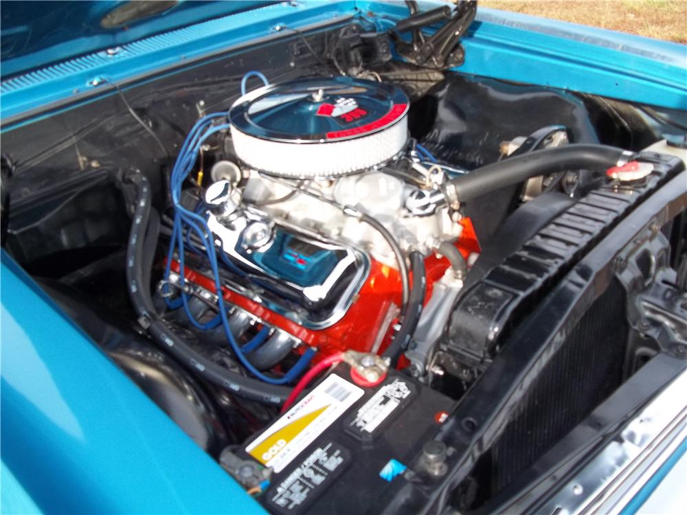 1966 CHEVROLET CHEVELLE SS 396 2 DOOR HARDTOP - Engine - 170243