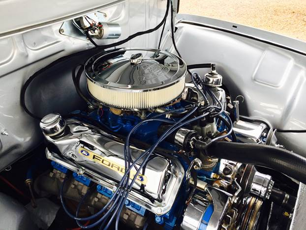 1956 FORD F-100 CUSTOM PICKUP - Engine - 170249