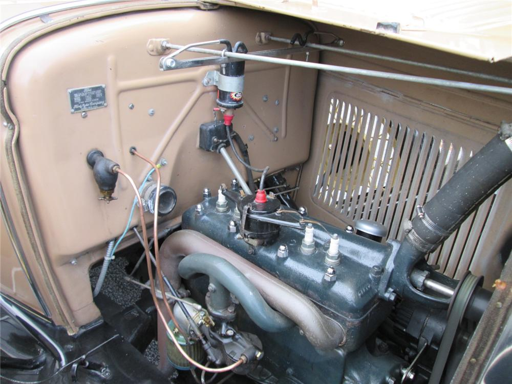 1930 FORD MODEL A ROADSTER - Engine - 170253