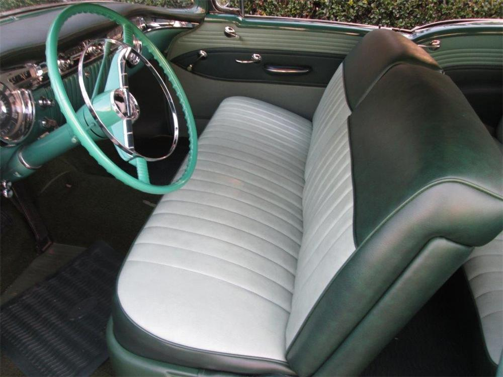 1955 OLDSMOBILE DELTA 88 2 DOOR COUPE - Interior - 170257