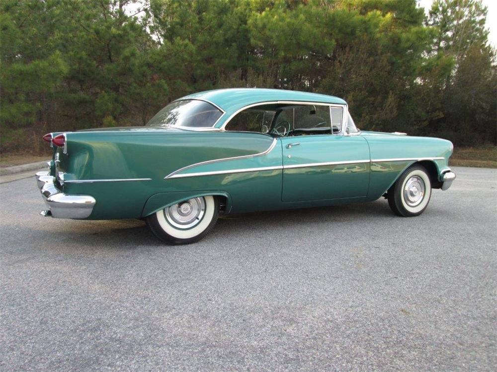 1955 OLDSMOBILE DELTA 88 2 DOOR COUPE - Side Profile - 170257