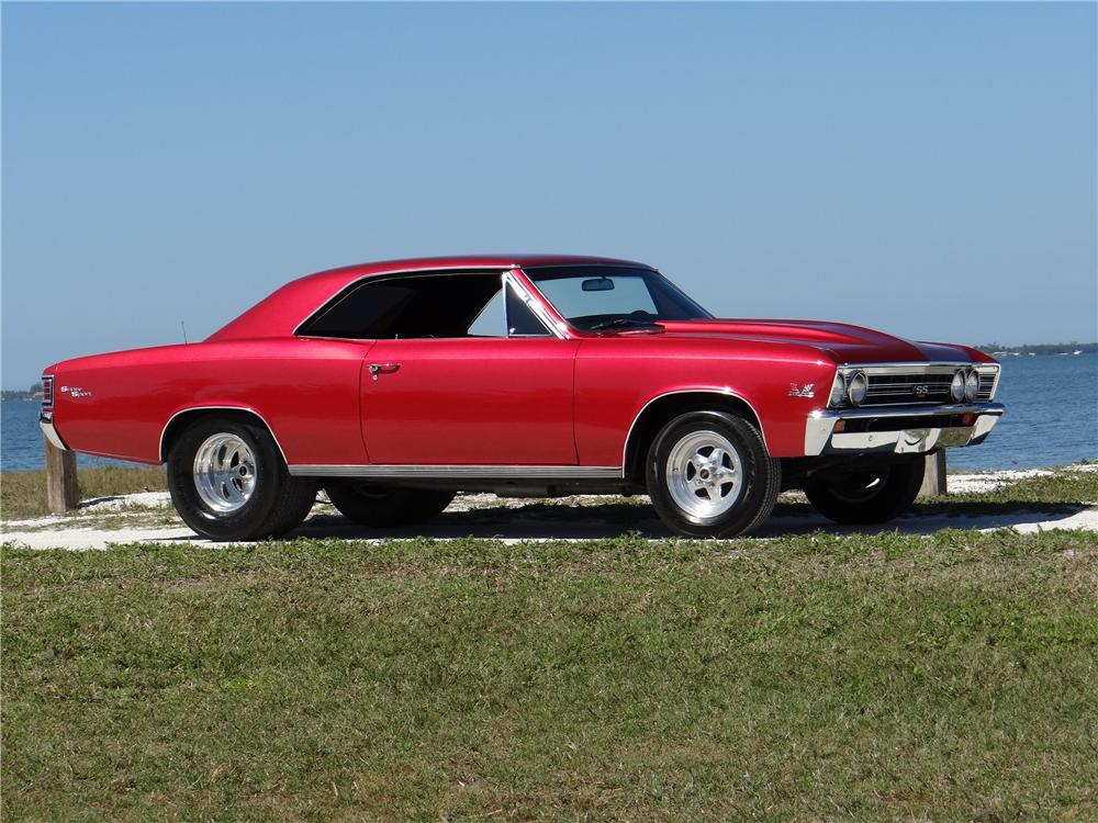 1967 Chevrolet Chevelle Ss Custom 2 Door Coupe 170268