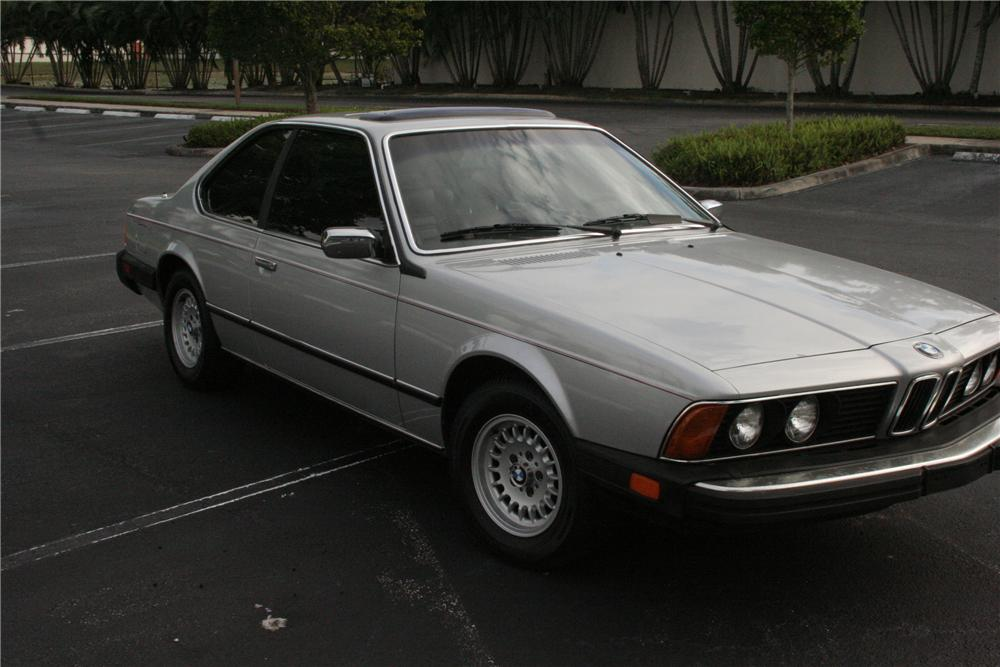 1984 BMW 633 CSI 2 DOOR COUPE - Front 3/4 - 170269