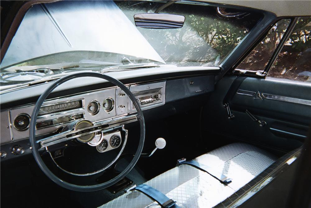 1964 DODGE 330 CUSTOM 2 DOOR COUPE - Interior - 170270