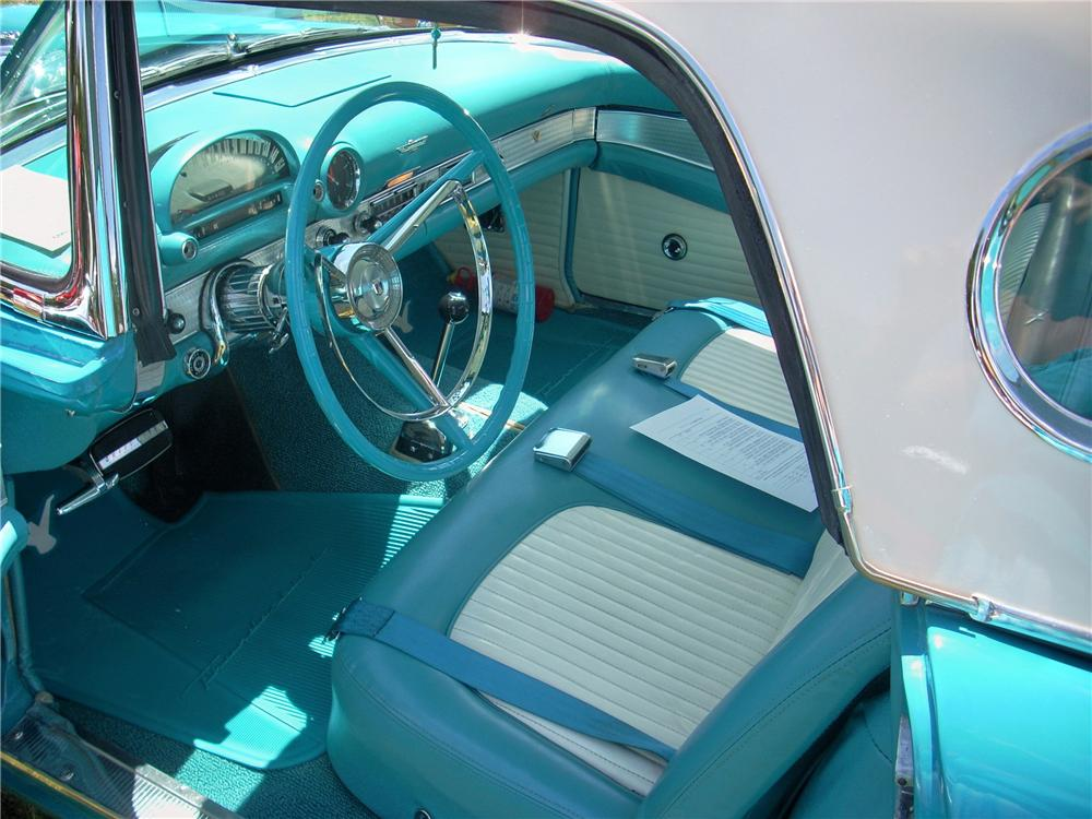 1956 FORD THUNDERBIRD CONVERTIBLE - Interior - 170272