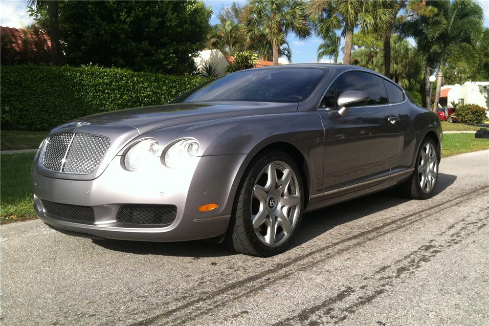 2005 bentley continental gt 2 door coupe front 3 4 170277. Cars Review. Best American Auto & Cars Review