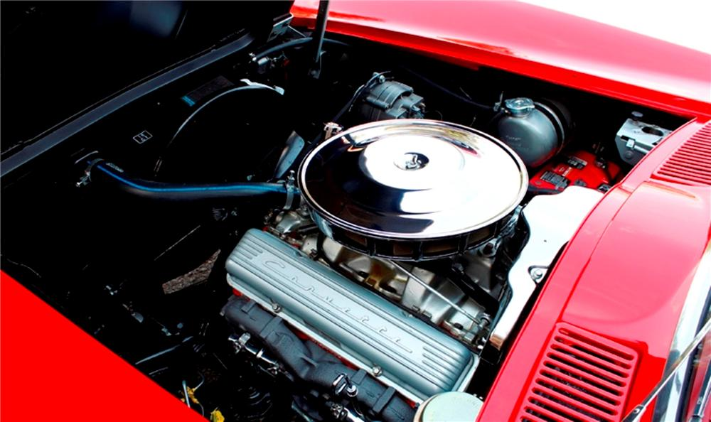 1965 CHEVROLET CORVETTE CONVERTIBLE - Engine - 170278
