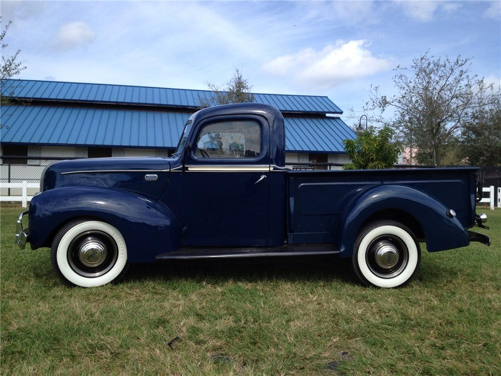 1941 FORD PICKUP - Side Profile - 170280