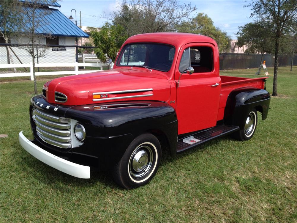 1948 FORD F-1 PICKUP - Front 3/4 - 170281
