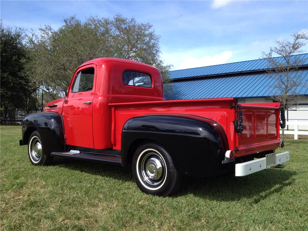 1948 FORD F-1 PICKUP - Rear 3/4 - 170281