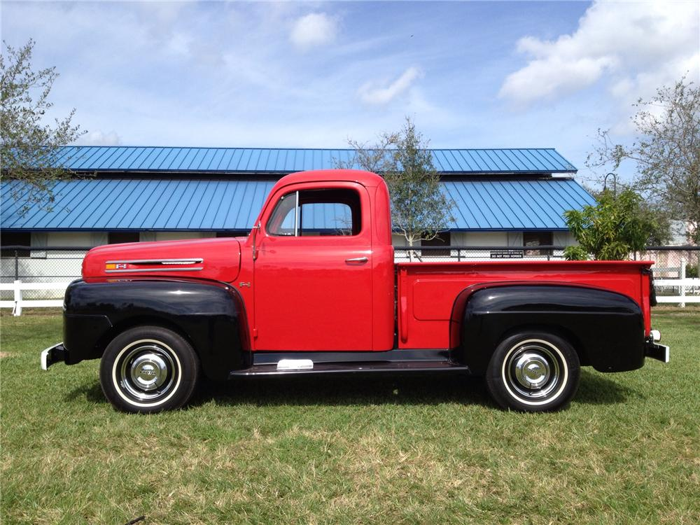 1948 FORD F-1 PICKUP - Side Profile - 170281