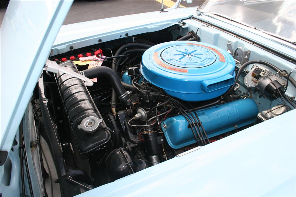 1959 FORD GALAXIE CONVERTIBLE - Engine - 170287